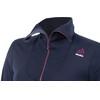 """Aclima W's DoubleWool Polo Zip Shirt Peacoat (Blackberry Wine/Periscope)"""